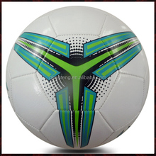 machine stitched PVC size 5 cheap soccer ball in bulk