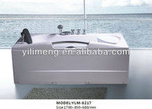China manufacturer cheap massage bathtub with FM radio function
