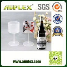 New Product Sublimation red wine glass cup/tea cup wine glass