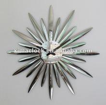 Diseño de acrílico del reloj de pared, Reloj de Metal
