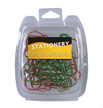 Shaped Paper Clips In Clamshell