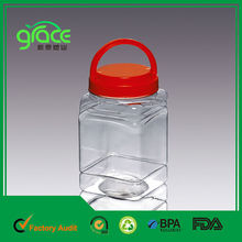 botella de plástico con asa