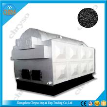 DZL Series Horizontal chain grate coal fired steam boiler, coal fired water heater