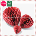 Producto de la boda en forma de corazón Honeycomb arte de papel