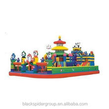 Interesting Giant Inflatable Slider For Outdoor Playground