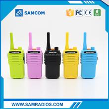 SAMCOM 5C,colorful and individual,2Watts Mini consumer Walkie Talkie