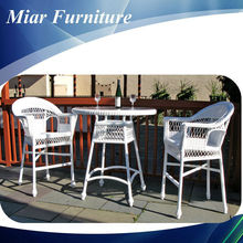 Wicker furniture home wine bar furniture set 405024