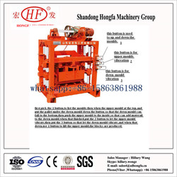 QTJ4-40 automatic brick making machine for bangladesh/used brick making machine/sand lime brick machine