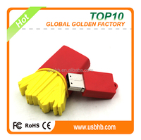 PVC 16GB french fry usb flash drive with FCC,CE, ROHS, usb flash drive from shenzhen China