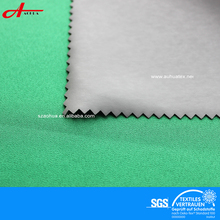 Transfer coated waterproof breathable 4 way stretch fabric lycra