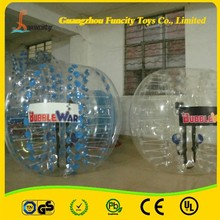 Outdoor toys fashionable durable TPU/PVC material inflatable bumper ball, bubble soccer football, body bubble ball for choice