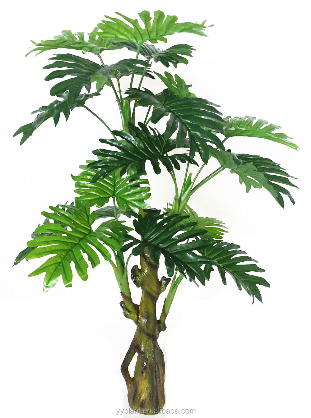 Artificielle plante verte philodendron 110 cm en usine for Solde plante exterieur