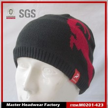 2015 High wholesale winter knitted wool hat for men