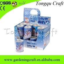 small fast selling items canned snow, instant expanding snow for christmas decoration