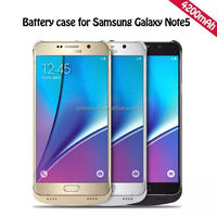 4200mAh Bank Charger Case For Samsung Galaxy Note 5 Battery Case