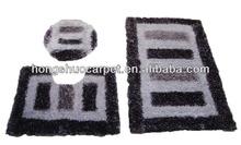 Raschel 3pc bath mat