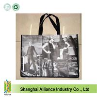 Eco Green Friendly Reusable Shopping Tote Laminated Non Woven Bags