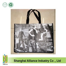 Eco Green Friendly Reusable Shopping Tote Laminated Non Woven Bags