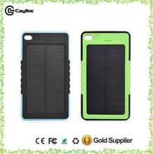 8000mah portable mobile solar charger for celephone