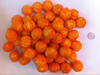 40mm small plastic pumpkins