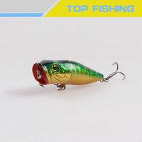 hot selling plastic artificial popper fishing lure popper bait