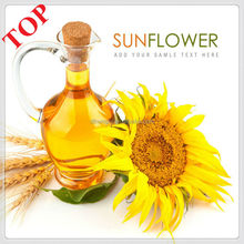 100%pure crude and refined Sunflower oil with quality certificates