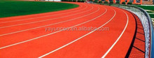 IAAF outdoor rubber track cover