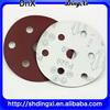 7 holes Polishing velcro sanding disc