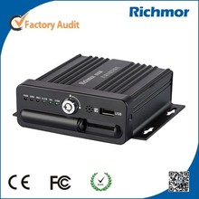 Richmor 4CH Mobile Security DVR With 3G GPS WIFI Gsensor SD DVR For Mobile Car Security
