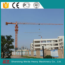 QTZ125 6015 Building Construction Tower Crane jib length 60m, 10 tons 6015 topless tower crane