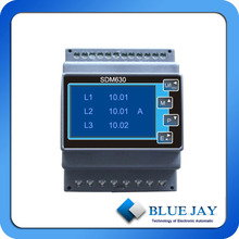 0.2Class DIN RAIL Energy Meter With CT Programmable