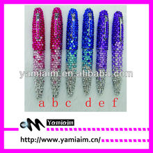 Bling rhinestone pen. great promotional gift, factory deal directly