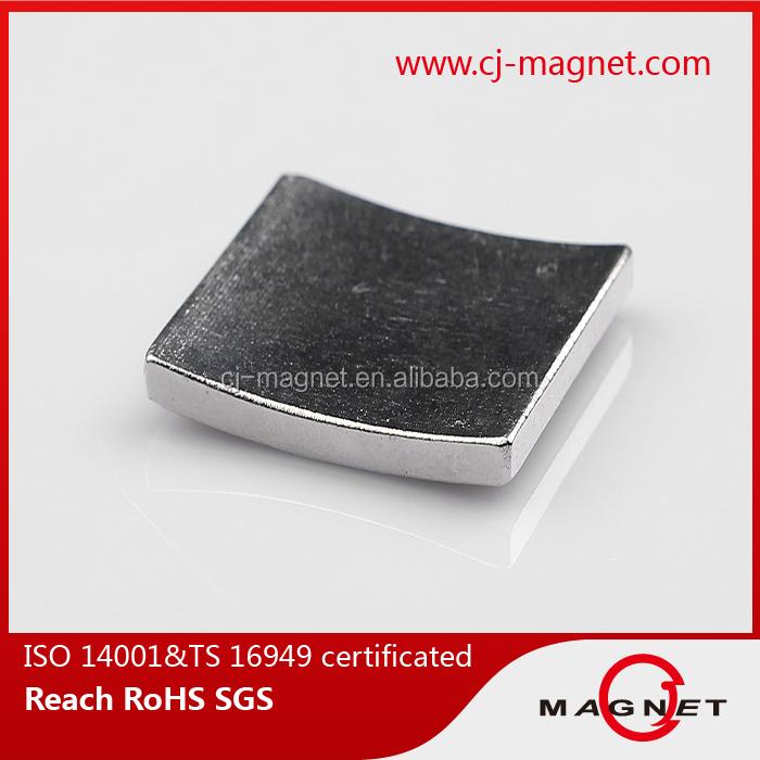N40 custom permanent neodymium magnet for motors