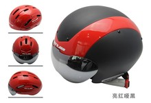 road bike helmet with glasses, GUB TT multi function helmet,