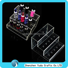 multistep acrylic e-cigarette display for promotion in store shopping mall dealer in china low price fast delivery newest design