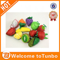 cheap promotional fruit shaped nylon folding shopping bag