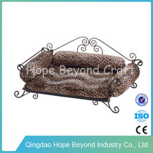 Fashion wrought iron pet bed for dogs