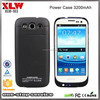 New arrive 3200mAh Extended Backup Battery Case Power Bank Case for GALAXY S3 I9300