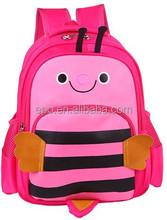 kids lovely school bag with various colors, made in China