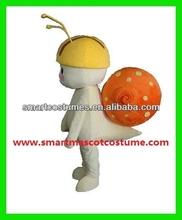EVA plush material adult snail costume snail mascot costume
