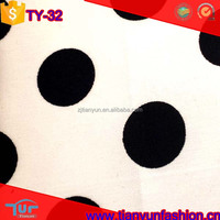 kids dressing polka dot design stretch wholesale 100 cotton woven fabric