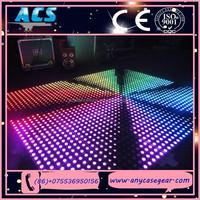 ACS top quality DMX led digital dance floor for club / bar