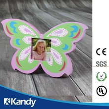 Free design small MOQ butterfly picture frame for importer