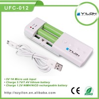 High efficiency universal portable mobile/cell phone /camera charger