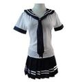 buena calidad japonés uniforme escolar para las niñas