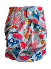 Free Shipping Promotion Breathable Infant Cloth Diaper Nappy one pocket nappies Without Inserts double row Snap