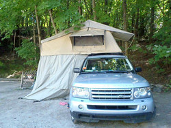 Folding Camping Roof Tent Special Design Camping Roof Tent Aluminum Frame Camping Roof Tent