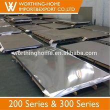 Food grade polished 304 8k stainless steel sheets for cooking