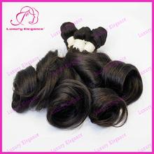 Pure Brazilian Bouncy Curl Funmi Human Hair Weaving Wholesale