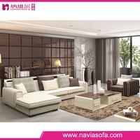 Living room furniture modern low back l shaped corner sofa set designs sectional sofa